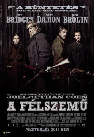 A félszemű, film poszter