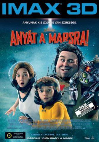 Anyát a Marsra, film plakát