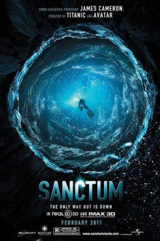 Sanctum 3D, film plakát