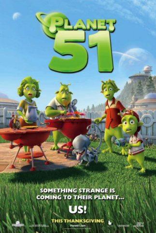 51-es Bolygó, film plakát