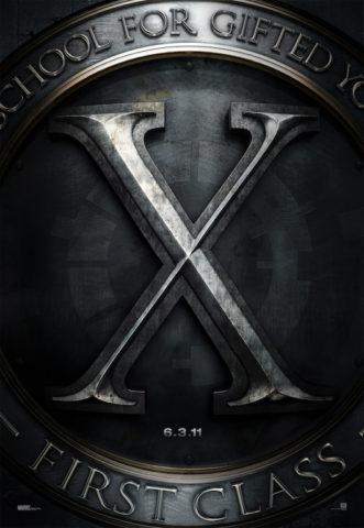 X-men: First Class, film plakát