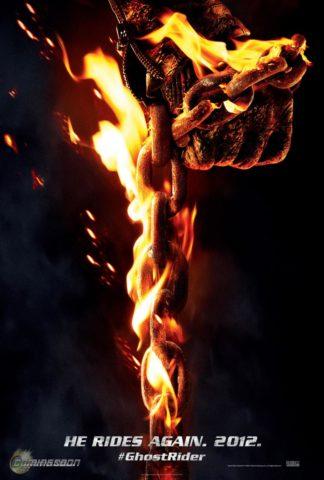 Ghost Rider: Spirit of Vengeance (2012) poszter