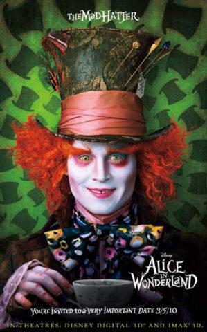 Alice csodaországban, film plakát