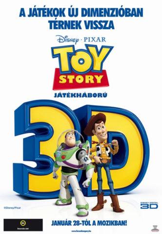 Toy Story - Játékháború 3D, film plakát