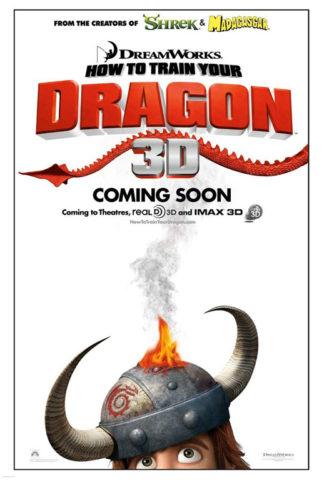 Így neveld a sárkányodat, film plakát