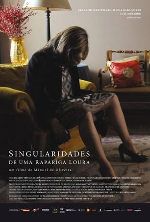 Szeszélyes szőke, film plakát