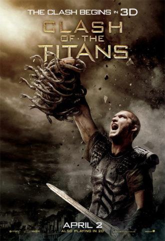 Titánok harca, film plakát