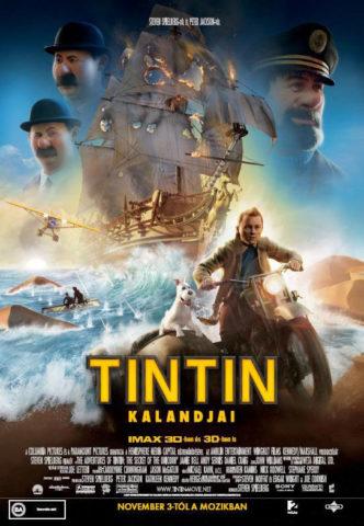 Tin Tin kalandjai 3D, film plakát