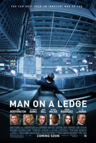 Man on a Ledge 2012 poszter
