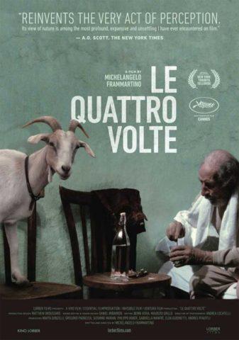 Az élet négyszer, film plakát