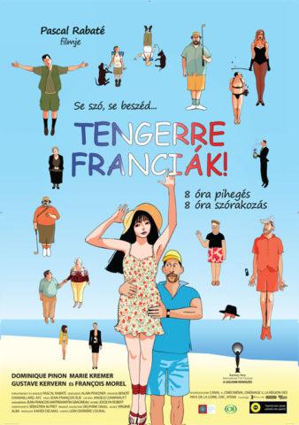 Tengerre franciák, film plakát