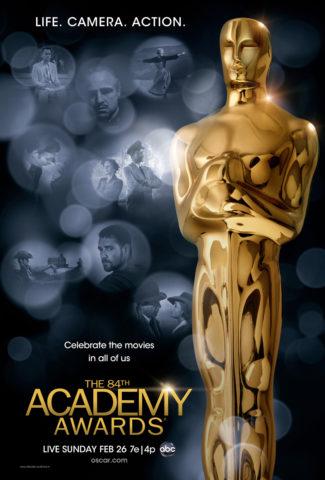 84. Oscar 2012 poszter