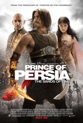 Perzsia Hercege: Az idő homokja, film plakát