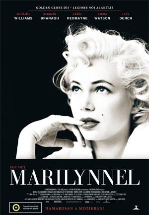 Egy hét Marilynnel, film plakát