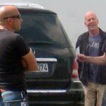 Die Hard forgatáson - Bruce Willis