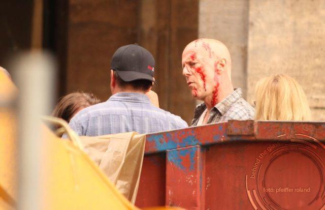 Bruce Willis - Die Hard 5. - forgatás