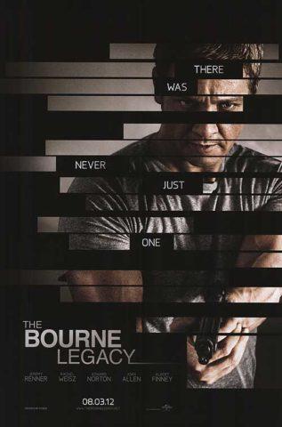A Bourne hagyaték, film plakát