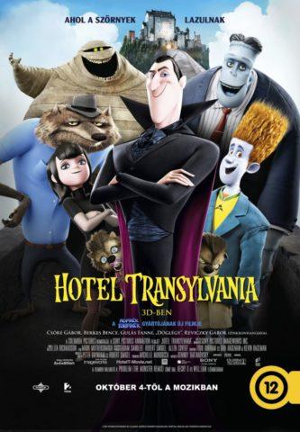 Hotel Transylvania - Ahol a szörnyek lazulnak 3D (Hotel Transylvania) 2012 poszter