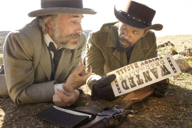 Django elszabadul jelenetfotó - Jamie Foxx