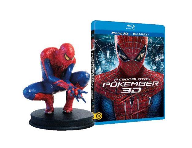 A csodálatos pókember 3D - DVD