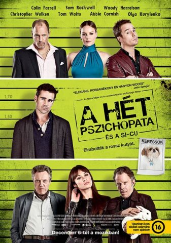 A hét pszichopata és Sicu film plakát