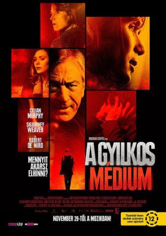 A gyilkos médium, film plakát