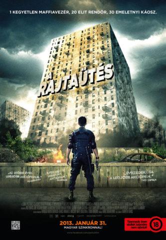 A rajtaütés, film plakát