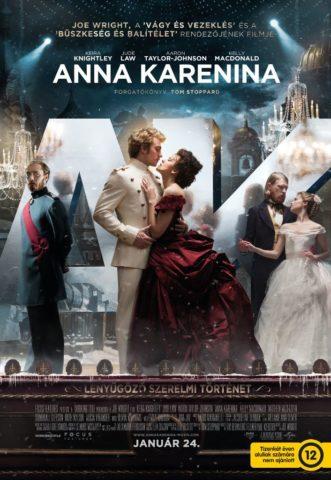 Anna karenina - magyar poszter