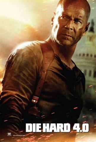 Die Hard 4.0, film plakát