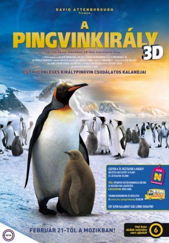 A pingvinkirály 3D (The Penguin King 3D) 2012 poszter