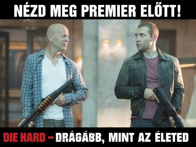 Die Hard premier előtt játék