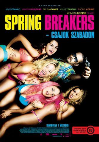 Spring Breakers – Csajok szabadon poszter