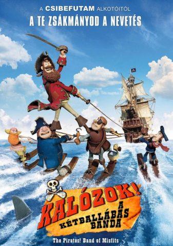 Kalózok – A kétballábas banda
