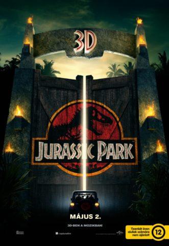 Jurassic Park 3D, film poszter