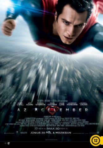 Az acélember 3D (Man of Steel) 2013 -poszter