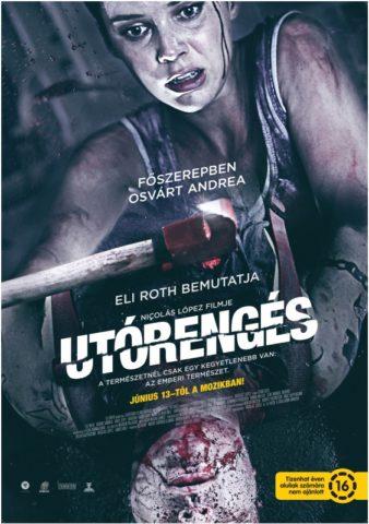 Utórengés, film plakát