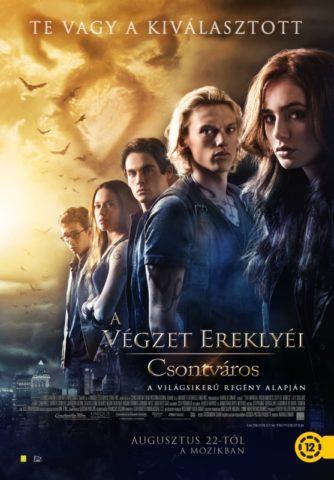 A végzet ereklyéi - Csontváros, film plakát