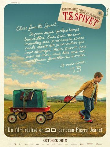 T.S. Spivet különös utazása, film poszter