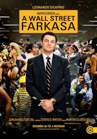 A Wall Street farkasa-poszter
