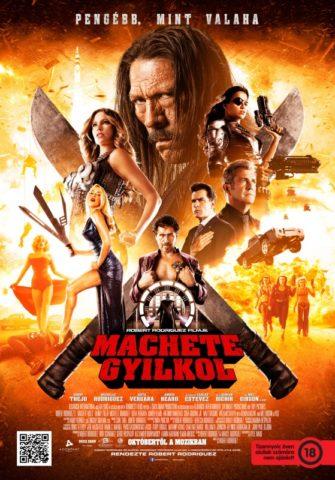 Machete gyilkol-poszter