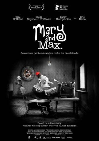 Mary és Max, film poszter