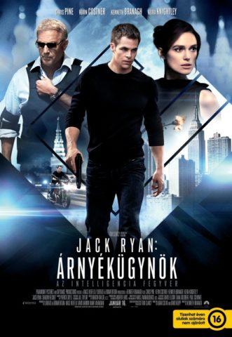 Jack Ryan Árnyékügynök-poszter