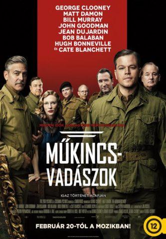 Műkincs vadászok, mozi poszter