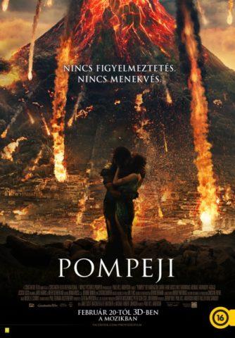Pompeji 3D (Pompeii) 2014 - poszter