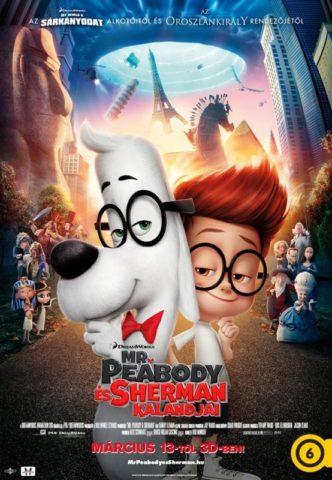 Mr Peabody és Sherman kalandjai, mozi poszter