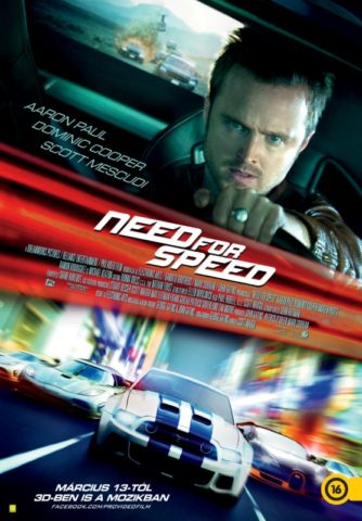 Need for Speed 3D-poszter