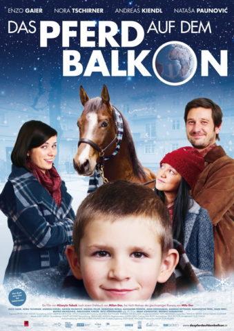 Ló az erkélyen, mozi poszter