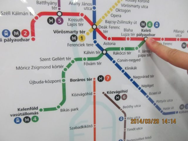 2 Mozi Erheto El A 4 Es Metro Vonalan
