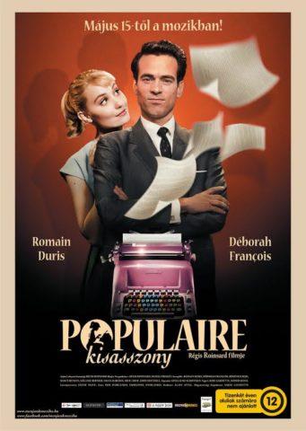 Populaire kisasszony, mozi poszter