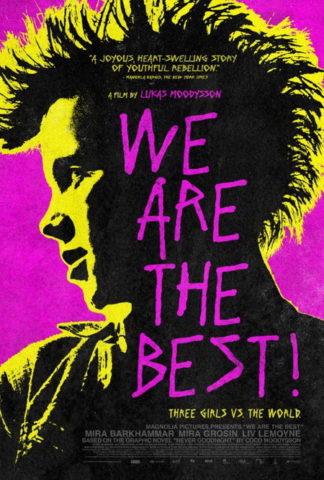 Mi vagyunk a legjobbak, mozi poszter